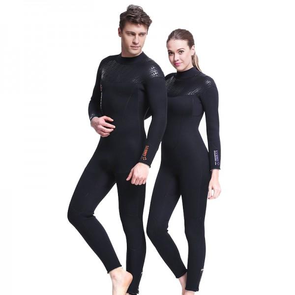 5MM Wetsuit Womens & Mens Diving Suit Full Suit Cold Water Wetsuit