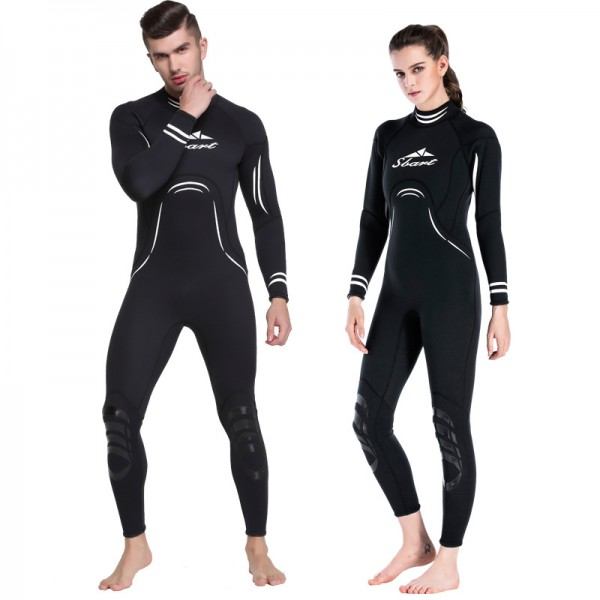 3MM Wetsuit Adult Cold Water Wetsuit Full Body Neoprene Wetsuit