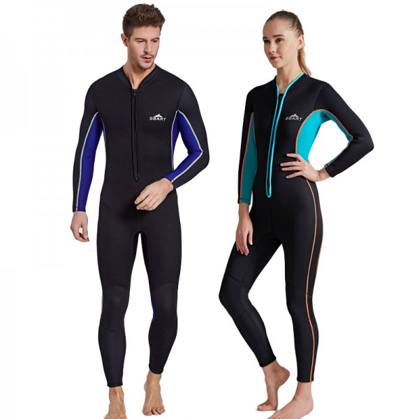 Diving Suit Women Full Body Wetsuit Mens Adult Wetsuit 3MM Wetsuit