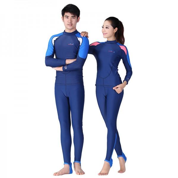 Surf Suit Womens & Mens Rash Guard Swimsuit Wetsuit Swimsuit