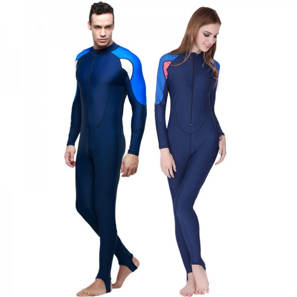 Mens & Womens Full Body Rash Guard UPF 50+ Sun Protection Lycra Bodysuit