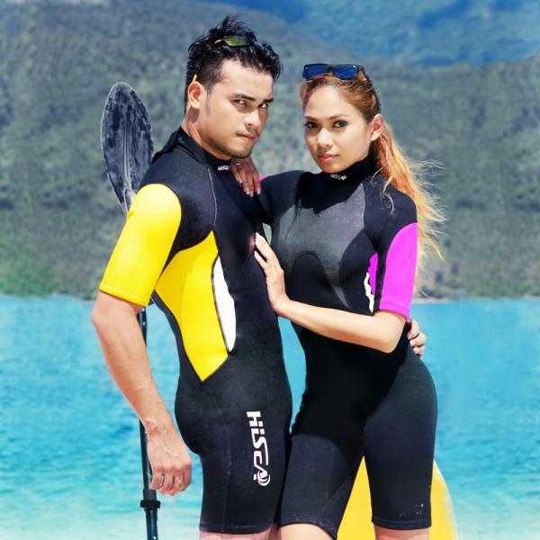 Shorty Wetsuit For Women & Men Diving Suit Neoprene Wet Suit