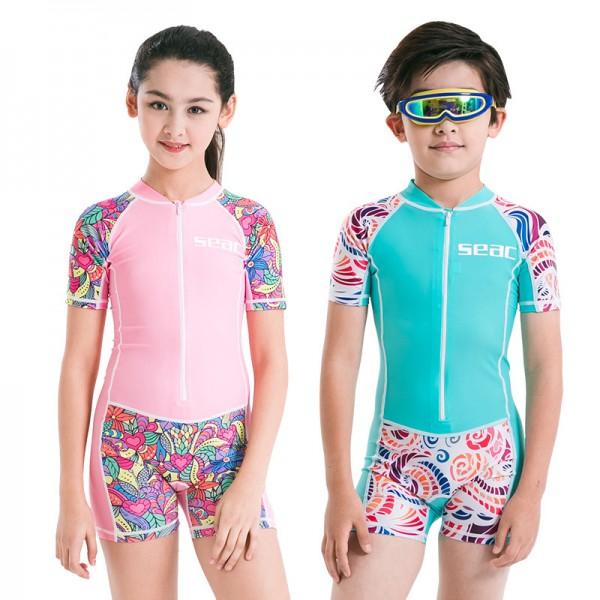 Kids Quicky Dry Shorty Wetsuit Boys & Girls' Swimwear