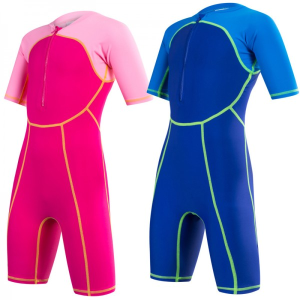 Kids Shorty Wetsuit Quicky Dey Swimsuits for Boys & Girls