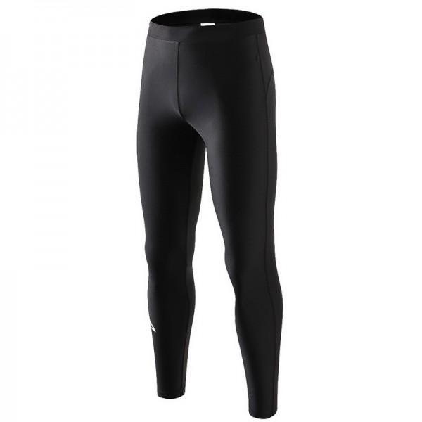 Black Men's Rash Guards Wetsuit Pants Bottoms Quick Dry