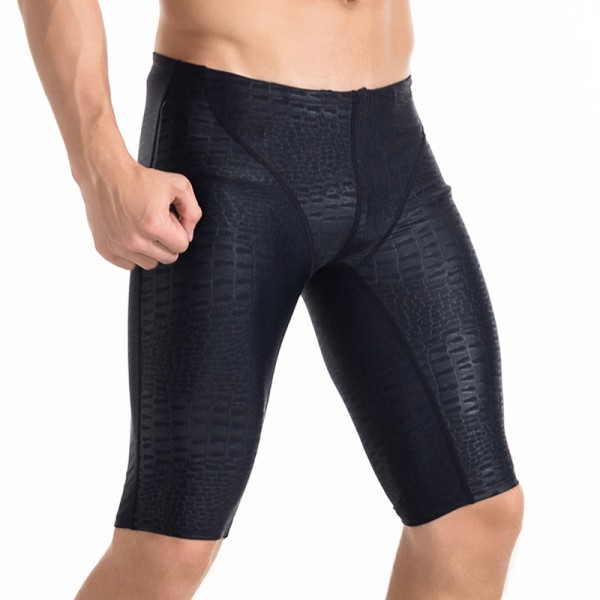 Comfortable Breathable Men's Black Quick-Drying Diving Pants