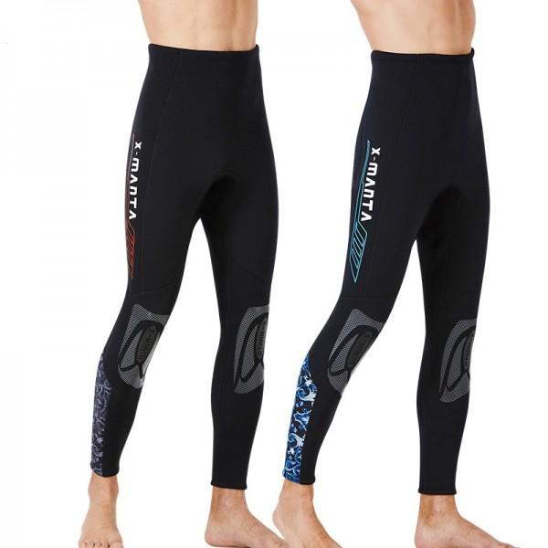 Men's 1.5MM Neoprene Diving Shorts Scuba Swimsuit Pants