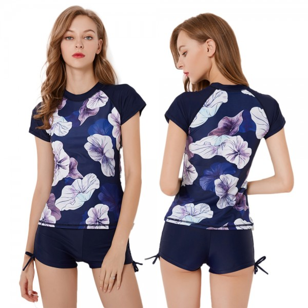 Two Piece Swimsuit For Women Swimwear Bathing Suit Set Rashguard