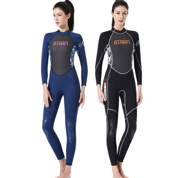 Full Wetsuit Womens Wetsuits Cold Water Wetsuit UPF 50+ 3MM Wetsuit