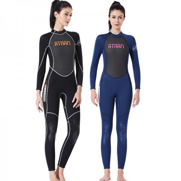 3MM SCR Wet Suit Full Womens Wetsuits Diving Suit