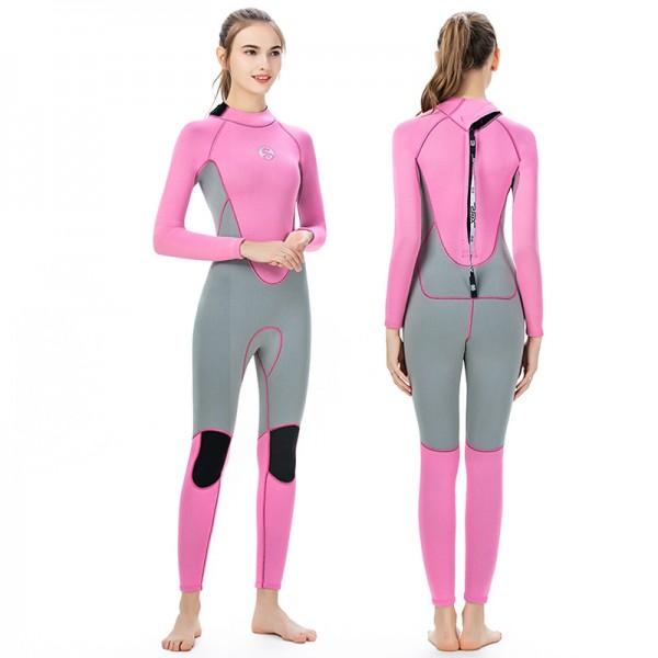 3MM Women Wetsuits Sale SCR Neoprene Diving Suit