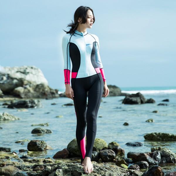 Swimming Wetsuits Rash Guard UPF 50+ Womens Surf Suit
