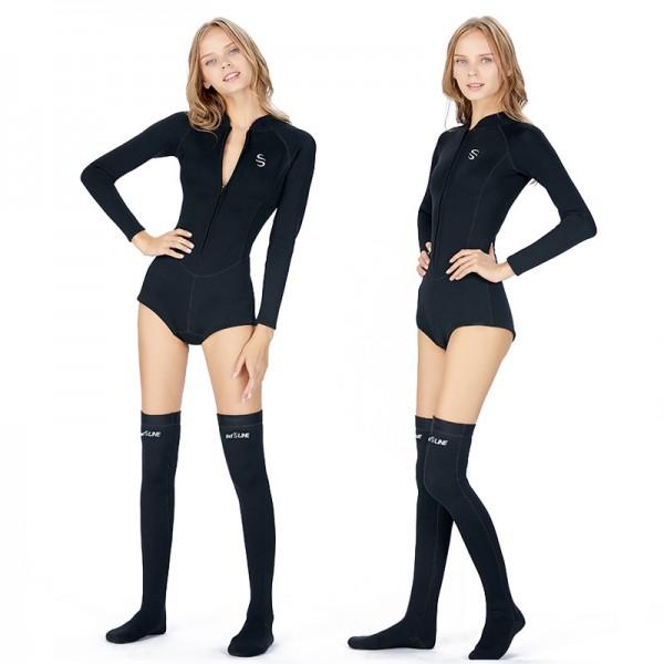 2MM Wetsuit Wet Suit Women's Shorty Wetsuit Neoprene Wetsuit UPF 50+